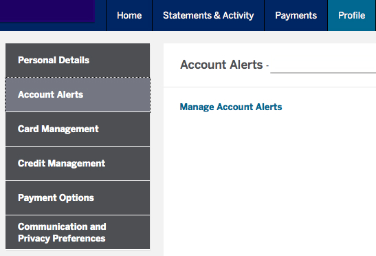 Set up Account Notifications and Monitor Changes in Your Account